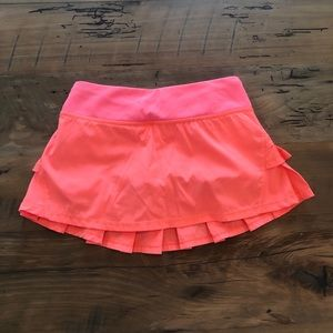 ivivva set the pace skirt with built in shorts